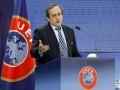Делегация UEFA во главе с Платини прибывает в Украину
