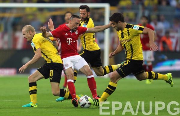 «Боруссия» одолела «Баварию» вматче 11-го тура чемпионата Германии