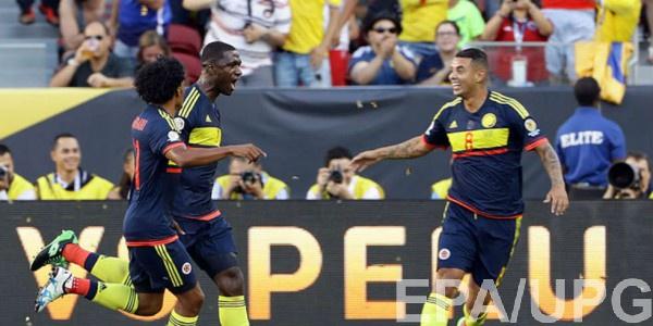 Колумбия обыграла Парагвай
