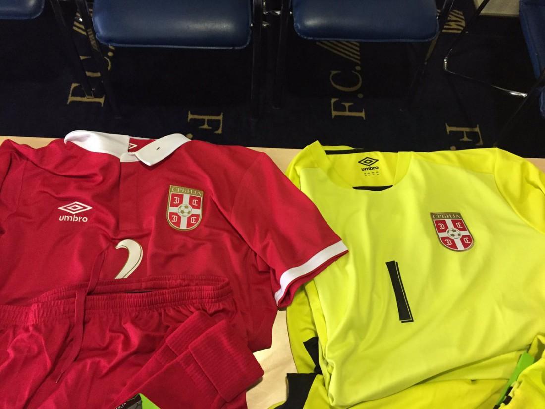 Форма сборной Сербии на матч против Украины