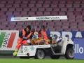 Вратарь Наполи во время матча получил серьезную травму головы