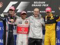 Хэмилтон побеждает в Бельгии и захватывает лидерство в Чемпионате