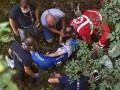Известный велосипедист упал с моста во время гонки