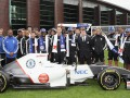 Команда Формулы-1 Sauber представила болид с эмблемой Челси