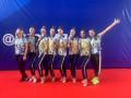 Украинские грации стали вторыми на Универсиаде