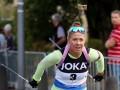 Джима выиграла две гонки на чемпионате Словении по летнему биатлону