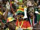 Болельщики сборной Ганы в красках