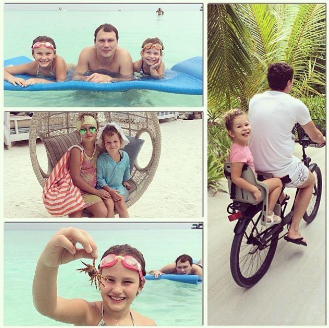 Андрей Пятов с семьей оказался на Мальдивах