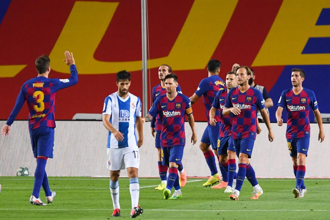 Барселона - Эспаньол: видео гола и обзор матча