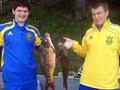 Сборная Украины по футболу отправилась на рыбалку