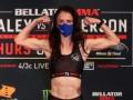 В Bellator девушка одолела свою соперницу приемом