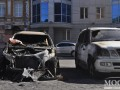 В Днепропетровске подожгли машину футболиста сборной Украины (ФОТО, ВИДЕО)