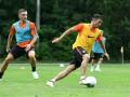 Мораес провел первую тренировку с Шахтером