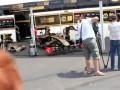 Виртуоз. Моторист Lotus Renault исполняет Гимн России на болиде Формулы-1