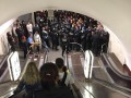 В киевском метро задержали группу ультрас