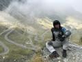 Шовковский удивил захватывающими фотографиями с горного шоссе