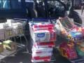 Металлист помог детям, эвакуированным из зоны АТО