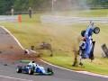 Видео ужасной аварии в британской Формуле-3