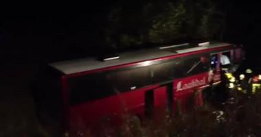 Автобус с украинскими спортсменами попал в страшную аварию