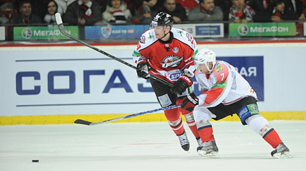 Донбасс порадовал болельщиков в матче КХЛ