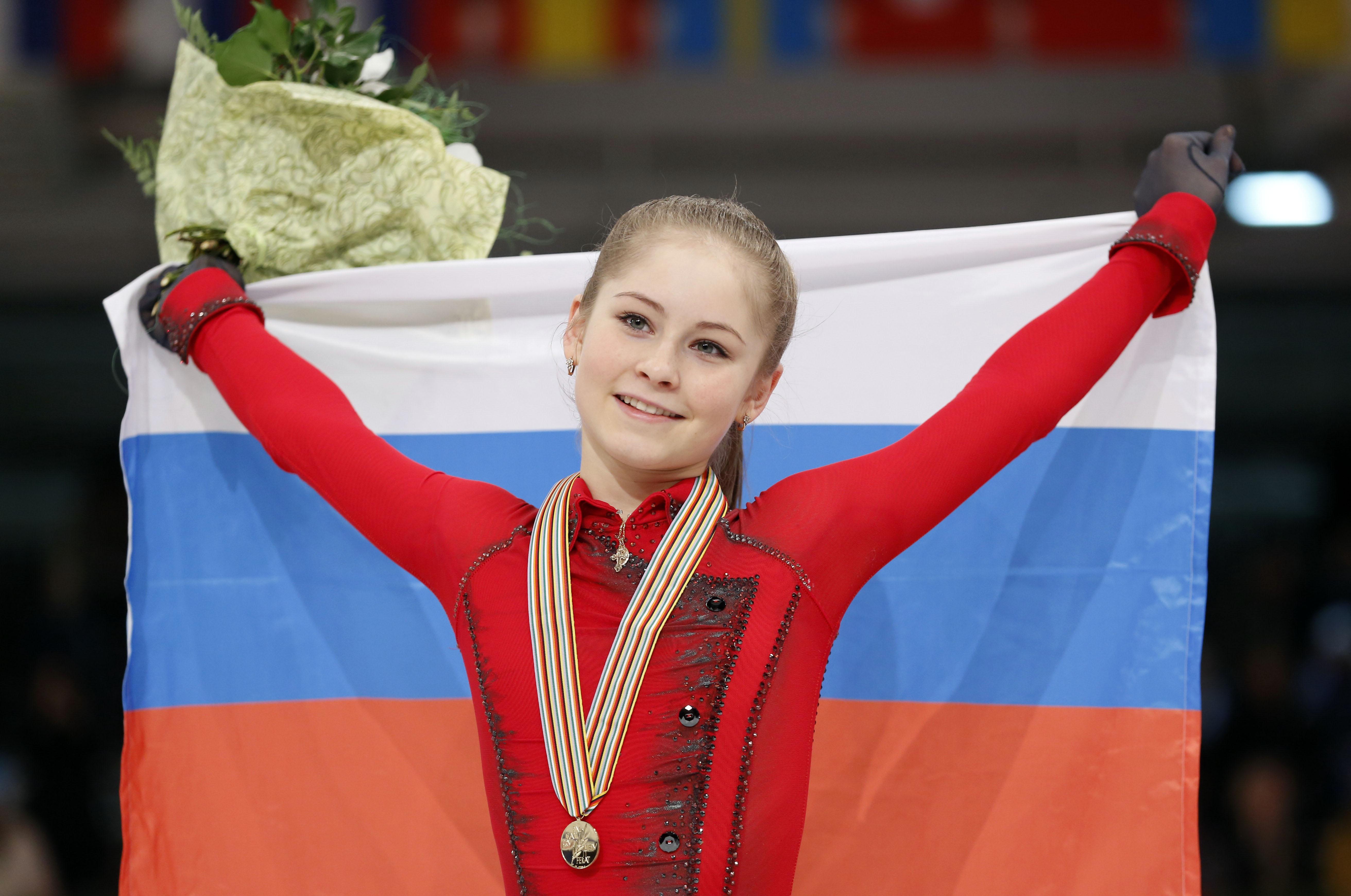 Юлия Липницкая - чемпионка Европы