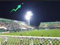 Во время матча чемпионата Бразилии болельщики заметили паранормальное явление