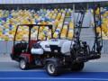 Дорогущая трава:  Газон на Олимпийском стригут за 300 тысяч в месяц