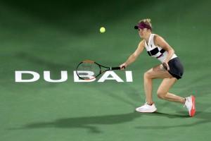 Свитолина в двух сетах разгромила Мугурусу в матче третьего круга турнира в Дубае