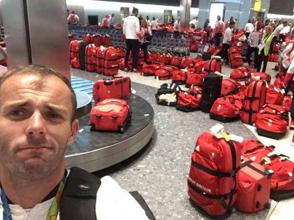 Британские олимпийцы попали в курьезную ситуацию с багажом