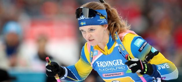 Швеция выиграла женскую эстафету на Кубке Мира, Украина - 4-я