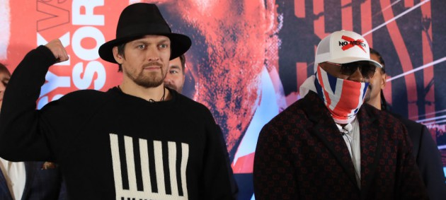 Усик и Чисора официально утвердили дату проведения боя