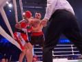 Гловацки победил украинца Радченко, побывав в нокдауне