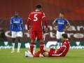 Капитан Ливерпуля получил травму в матче с Эвертоном