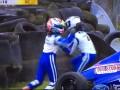 В британской Формуле-4 произошла драка между пилотами после аварии в гонке