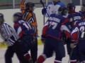 Видео массовой драки в женской хоккейной лиге