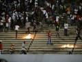 Разгневанные фанаты прервали матч Сенегала и Кот-д'Ивуара (ФОТО)