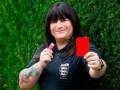 В Англии впервые в истории матч судила рефери-трансгендер