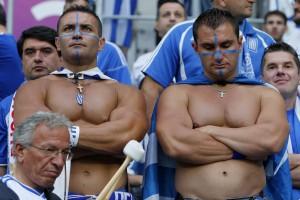 Лихой кавалерийский наскок. Чехия побеждает Грецию