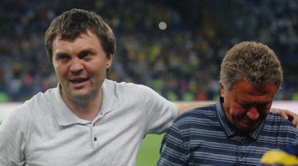 Металлист расплачивается за взятки от Евгения Красникова (слева)