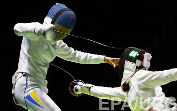 Женская сборная Украины вышла вчетвертьфинал Олимпиады— Фехтование