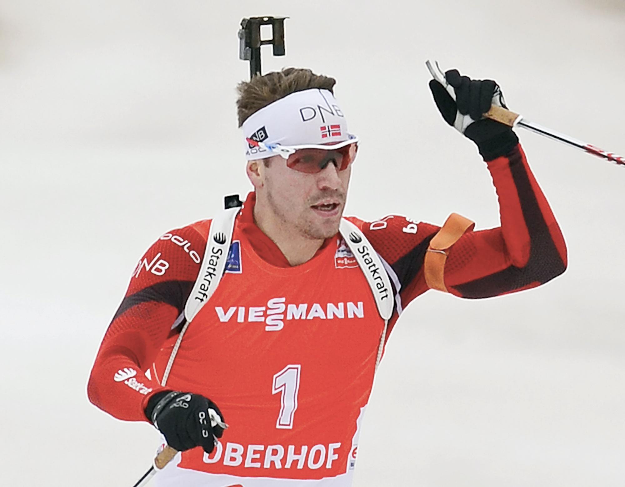 Эмиль-Эгле Свендсен выиграл гонку преследования
