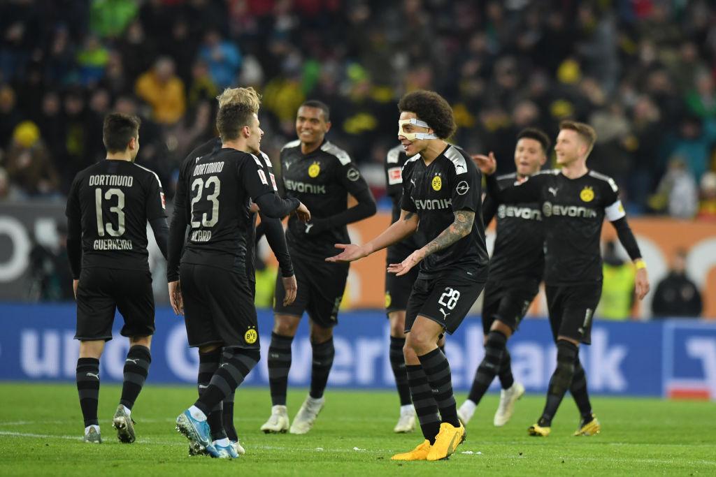 Боруссия победила вольфсбург