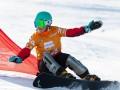 Украинка Данча завоевала золото на Кубке Европы по сноубордингу