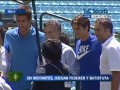 Федерер сыграл с Дель Потро и Батистутой в необычный футбол
