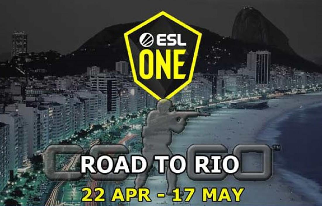 ESL One Road to Rio: видео онлайн-трансляция турнира по CS:GO