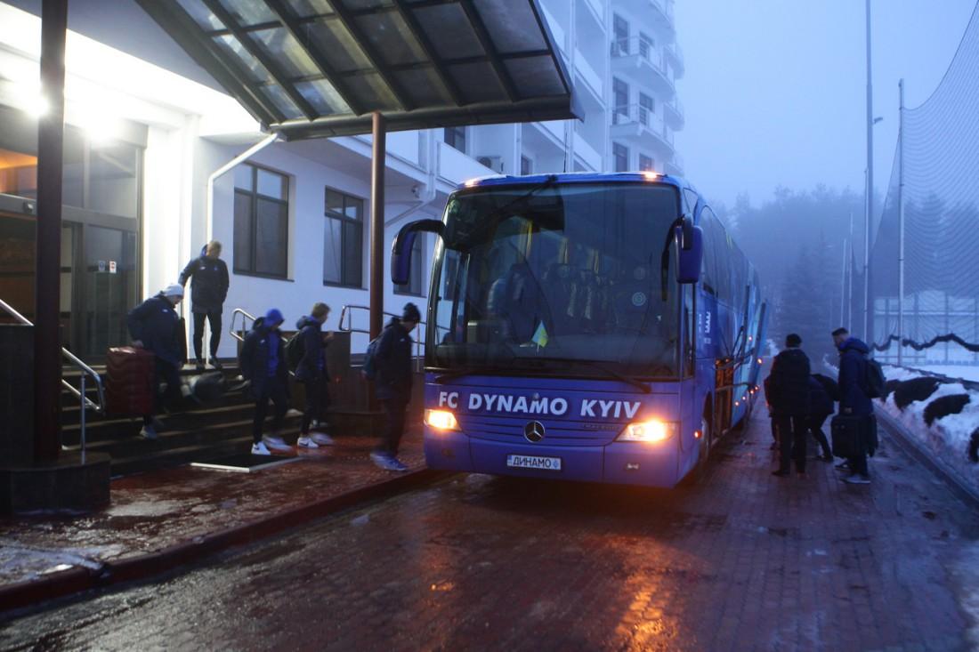 Игроки Динамо отправились на подготовительный сбор
