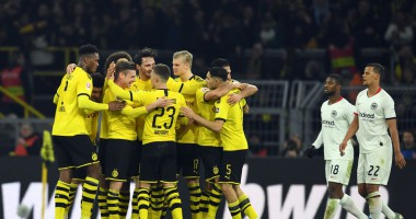 Боруссия Дортмунд - Айнтрахт 4:0 видео голов и обзор матча Бундеслиги