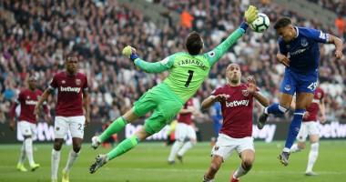 Вест Хэм - Эвертон 0:2 видео голов и обзор матча