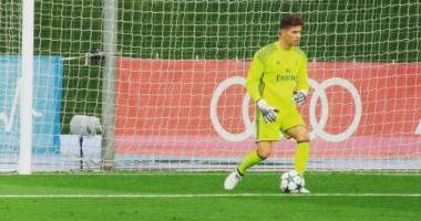 Фантастический сейв сына Зидана в матче за Реал