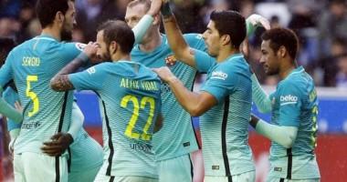 Алавес — Барселона 0:6 Видео голов и обзор матча